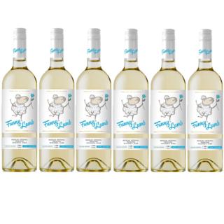 wino białe półsłodkie mołdawskie Funny Lamb Muscat Ottonel Riesling Feteasca Albă (2)