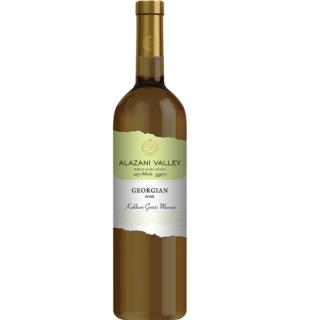 Gruzińskie półsłodkie białe wino