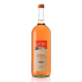 Wino półsłodkie cuvee różowe Węgierskie duża butelka bubis-edes-roze-1,5l węgry