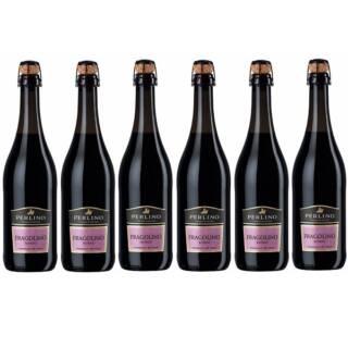 wino słodkie czerwone włoskie perlino fragolinoro