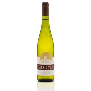 Godyla Siegerrebe Johanniter polskie białe wino wytrawne