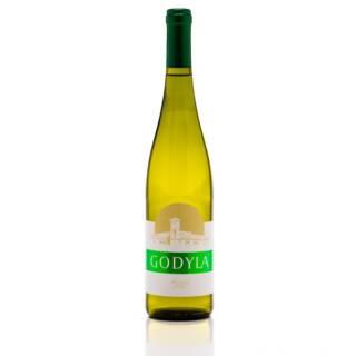 Godyla Solaris polskie białę wino wytrawne