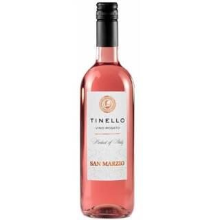 Tinello Vino Rosato włoskie stołowe różowe wino wytrawne