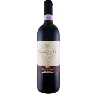 wino włoskie czerwone barbera półwytrawne