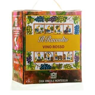 Montepulciano Box wino włoskie czerwone 5L wytrwne BIB