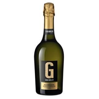 wino włoskie półwytrawne Valdobbiadene Prosecco Superiore Extra Dry